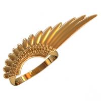 Кольцо в форме крыла