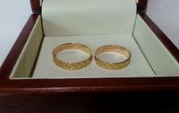Обручальные кольца узор