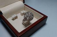 Перстень женский без камней