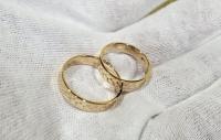 Обручальные кольца колоски
