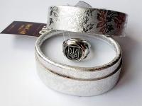 Печатка герб Украины круглая