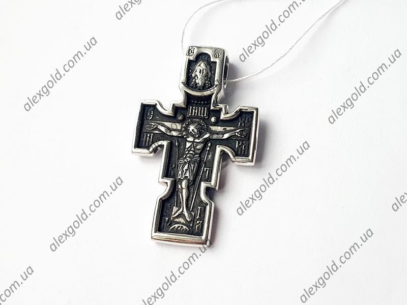 Крест с Иисусом и Архангелом Михаилом