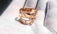 Обручальные кольца половинки сердца
