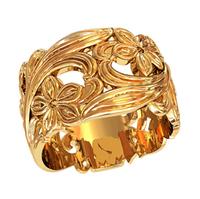 Кольцо без камней женское