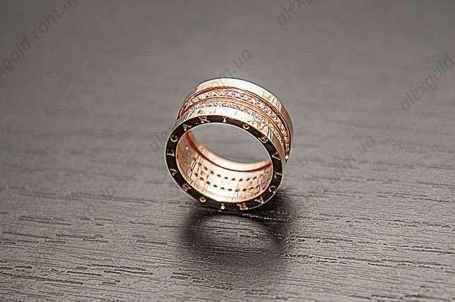 Кольцо женское Булгари