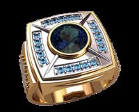 Печатка мужская перстень