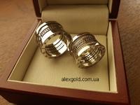 Широкие обручальные кольца Bylgary