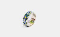 Кольцо вышивка Украины