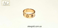 Женское кольцо Картье с камнями