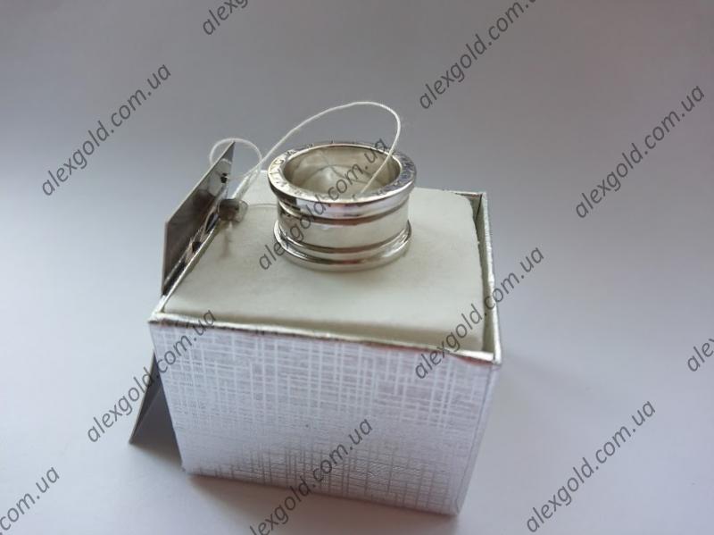 кольцо  Булгари серебро