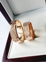 Обручальные кольца крылья