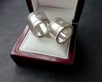 Широкие обручальные кольца Версаче