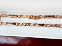 Золотая цепочка Cartier