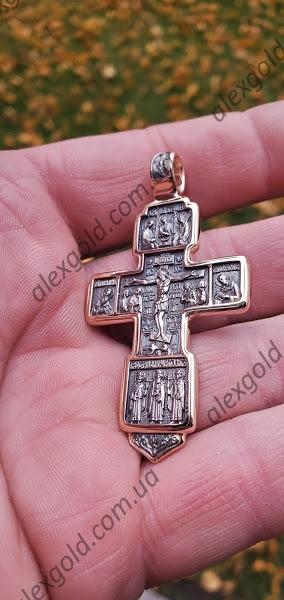 Крест Акимовский с чернением